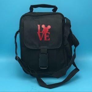 Handbags - Mickey Mouse LOVE Travel Crossbody Bag NWOT